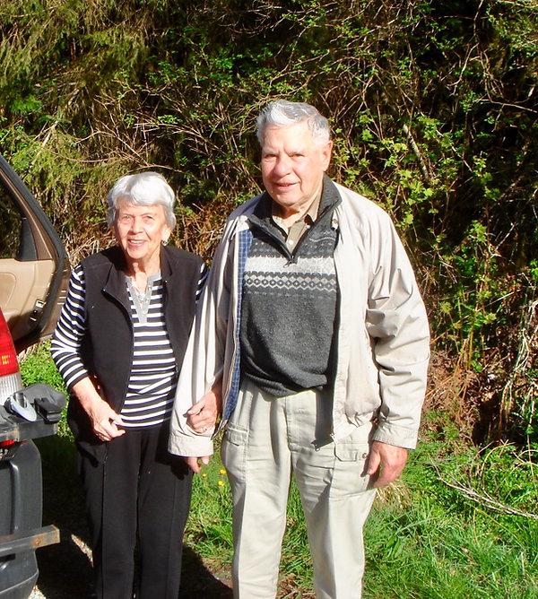 Mom & dad along West Coast Road | Sooke to Port Renfrew | south Vancouver Island