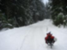Winter riding to Dodd Lake | bikepacking NE of Powell River | cycle touring north Sunshine Coast