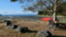 Gillies Bay, Texada Island | ferry from Powell River | cycle touring Gulf Island