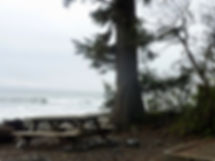 Jordan River Regional Campground | surfing | cycle touring SW Vancouver Island