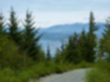 Seaside Road north to Naka Creek | bikepacking north Vancouver Island