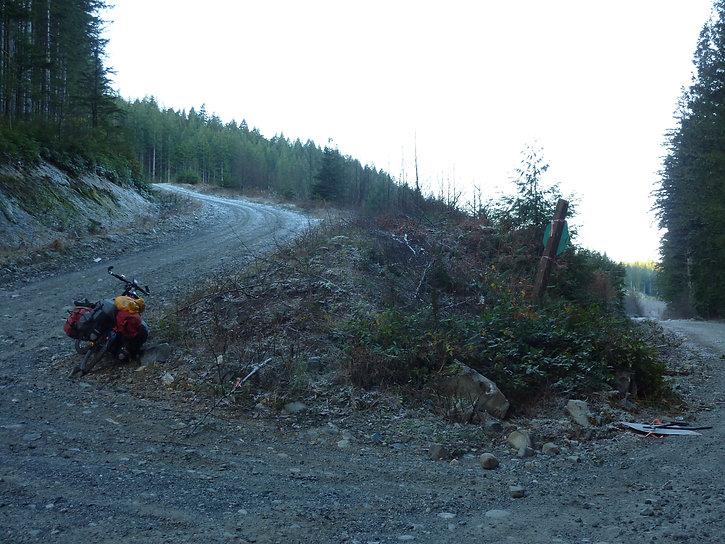 Rock Bay FSR and Elk Bay FSR, Stella Lake, favourite backroads bike tour, bikepacking, north Vancouver Island, Campbell River