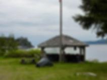 Naka Creek Rec Camp | north from Sayward | cycle touring north Vancouver Island