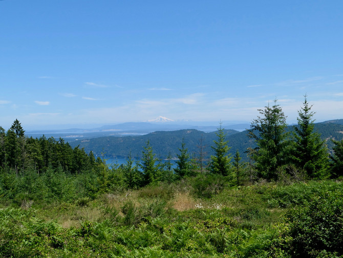 Riding the new Sooke Hills Wilderness Trail