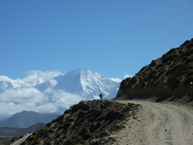 Road to Upper Mustang, NW Nepal