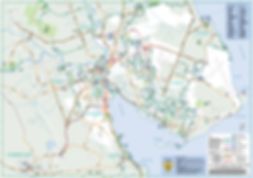 Comox Valley Urban Cycling Map | cycle touring Comox Valley | Comox Valley Cycling Coalition