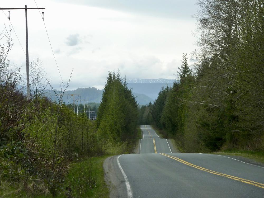 Highway 30 to Port Alice.