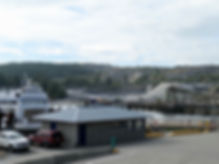 Blubber Bay ferry terminal | cycle touring Texada Island | cycling Gulf Islands