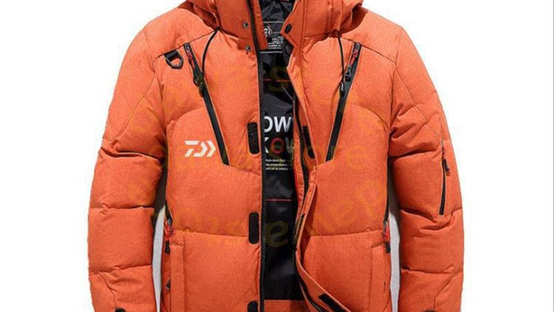 Men's Velvet Fishing Thermal Coat