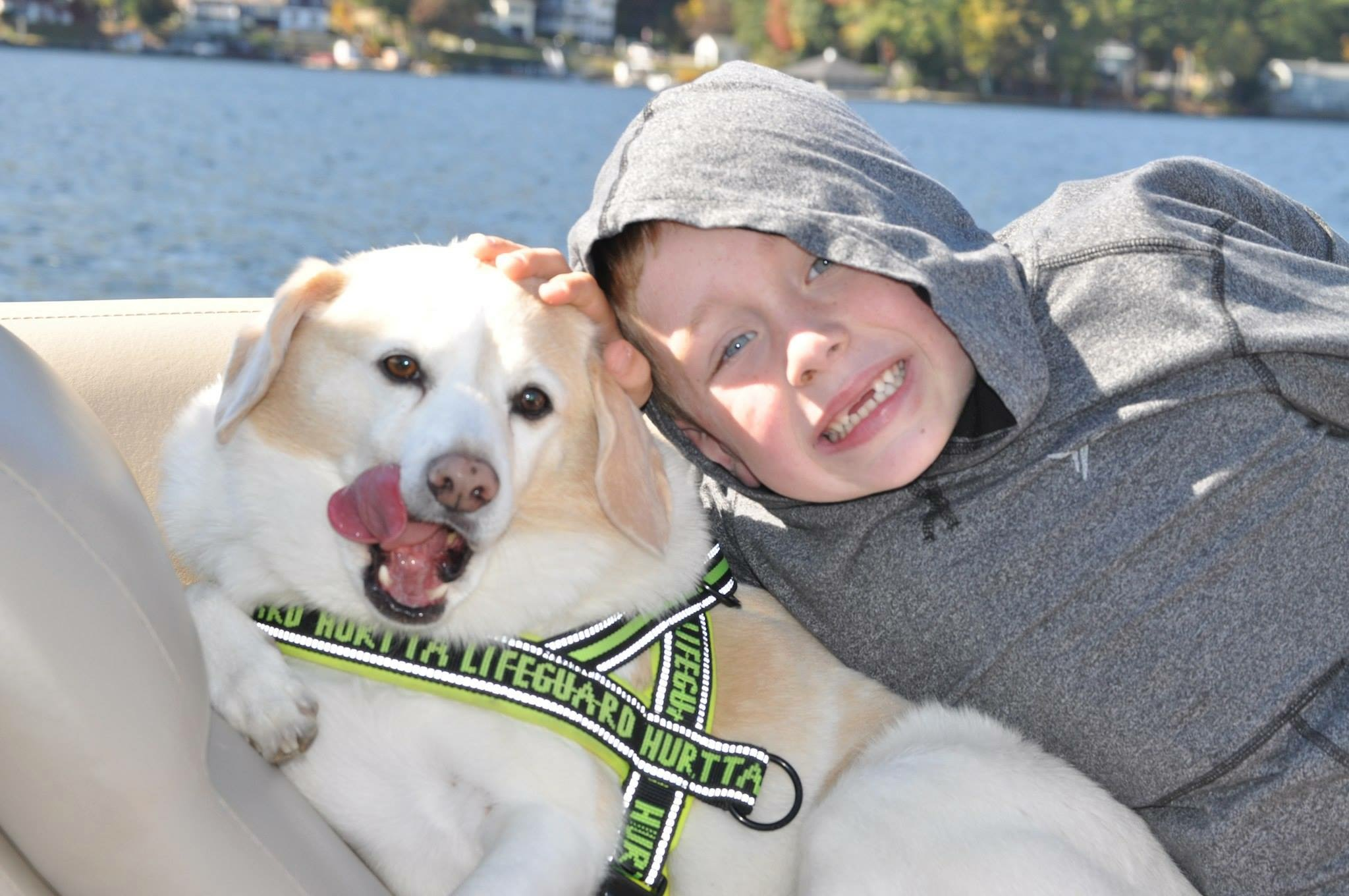 Kids. Dogs. Boats.