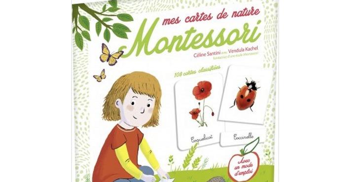 Mes cartes de nature - Montessori