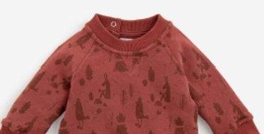 "Sweat-shirt ""Eliott"" Pomme des bois- Moulin Roty"