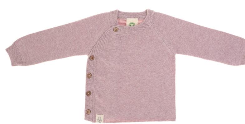 """Gilet tricoté """"vieux rose""""- Lassig"""