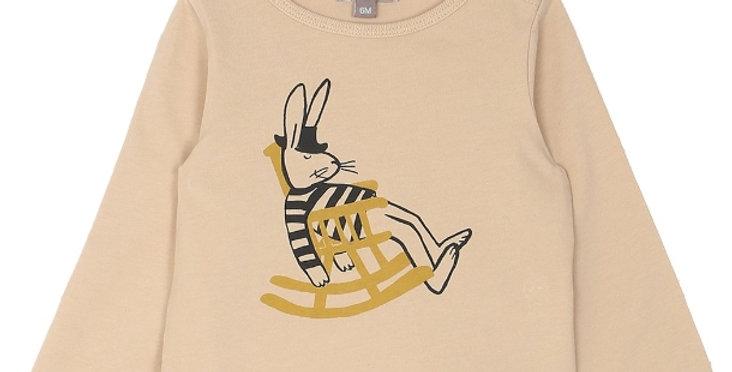 "T-shirt manches longues""Rocking-chair""- Émile et Ida"