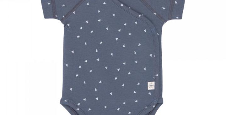 Body manches courtes - triangle bleu - LASSIG