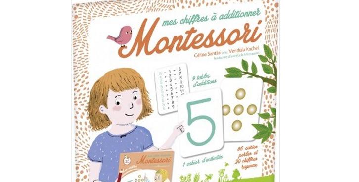Mes chiffres à additionner - Montessori
