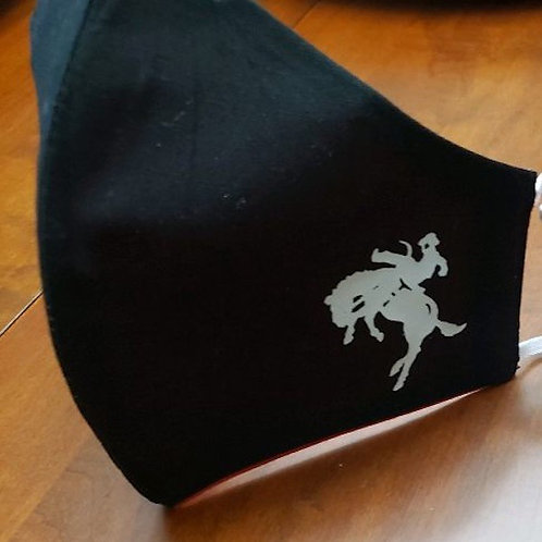 CCHS Official Cowboy/Horse Logo Face Mask