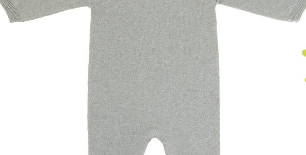 """Combinaison tricotée """"vert d'eau""""- Lassig"""