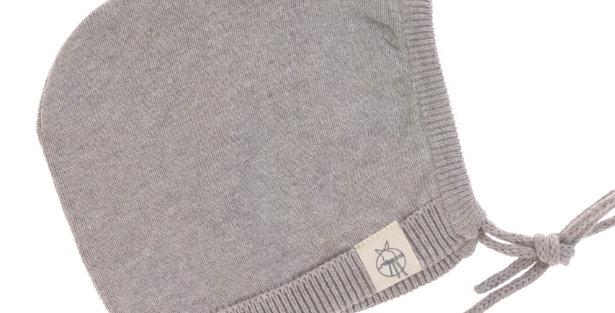"""Bonnet tricoté """"gris""""- Lassig"""