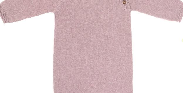 """Combinaison tricotée """"vieux rose"""" - Lassig"""