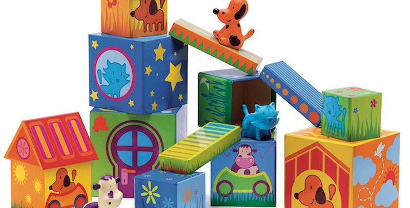 """Cubes imagiers """"Cubanimo"""""""
