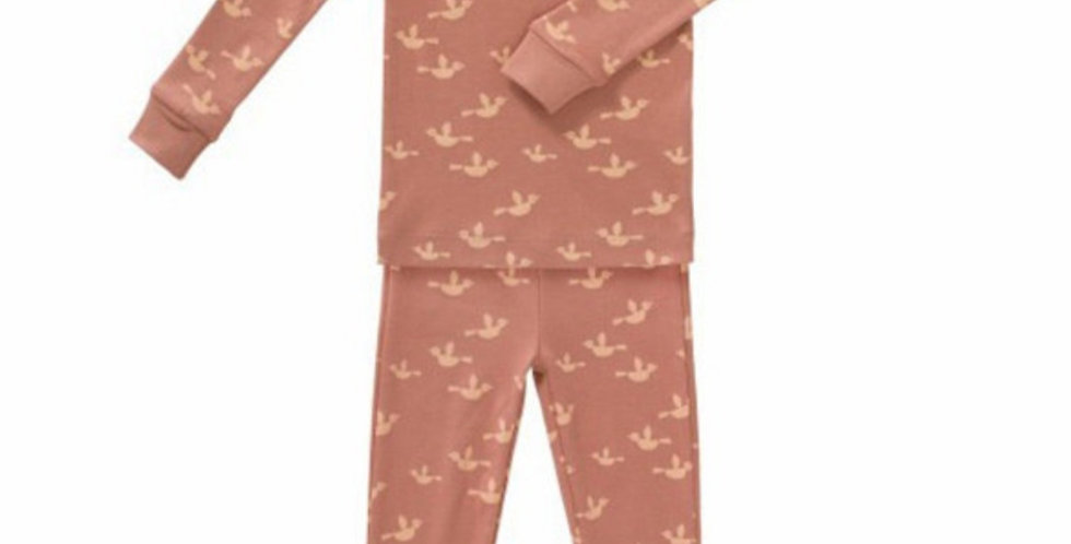 """Pyjama 2 pièces """"Oiseaux"""" en coton Bio - Fresk"""