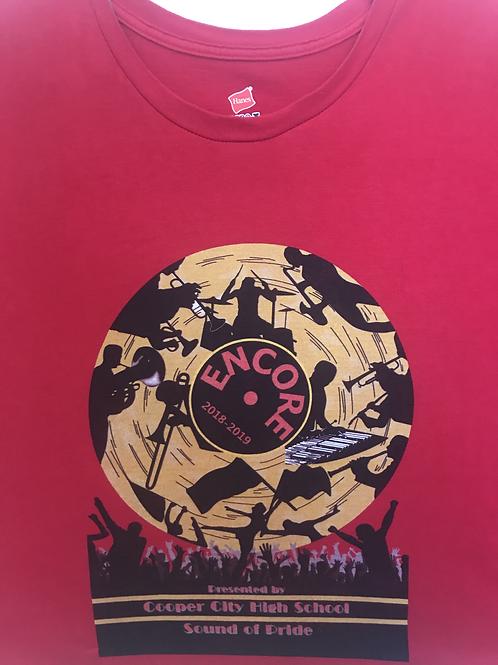 2019 Encore T-Shirt (Red)