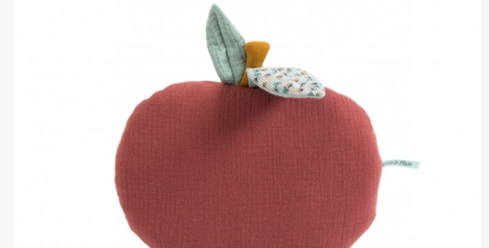 """Coussin pomme """"Après la pluie""""- Moulin Roty"""