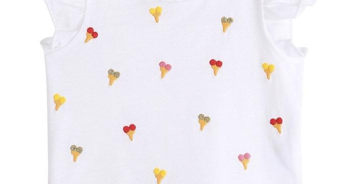 """T-shirt """"cornet de glace"""" - Émile et Ida"""