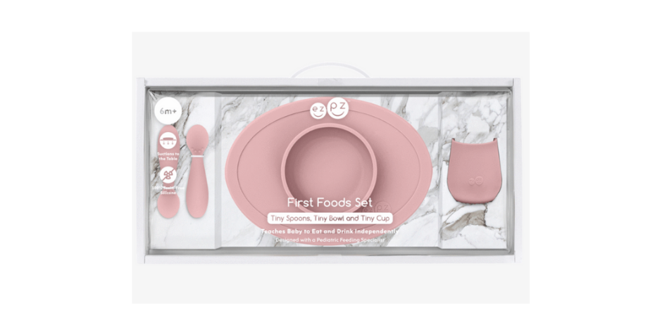Set de vaisselle en silicone alimentaire dès 6 mois -EZPZ