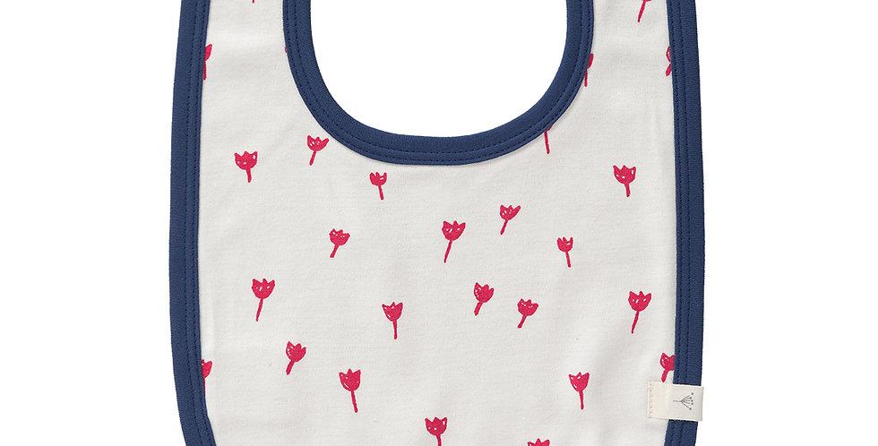 """Bavoir """"Tulipes"""" - Fresk"""