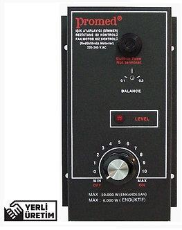 10.000 Watt Pano Tipi Dimmer Rezistans Isı & Fan motor devir kontrol