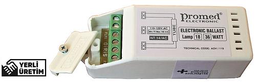 110 V.AC 18-36/40 W Floresan ve (Max.21 W) UV Dezenfeksiyon Ampul Balastı