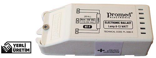 220V. (AC) 8-13 W T2/FM Floresan ve PL-L Ampul Balastı