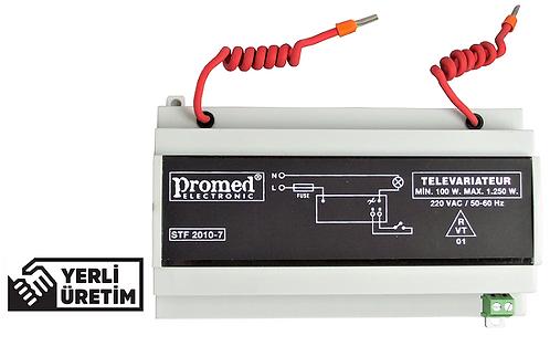 1250 Watt Televaryatör /Buton kontrollü Dimmer