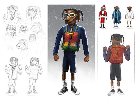 Snoop Dogg x Just Eat 'Doggy Dog Christmas' | director Chloe Hughes | Ammolite Inc
