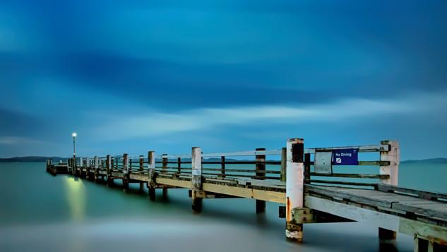 Maraetai Beach Wharf