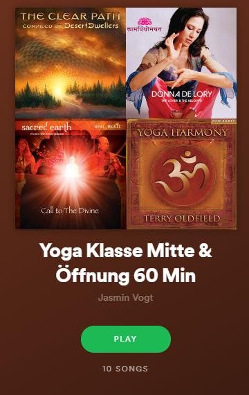 Playlist Mitte & Öffnunf
