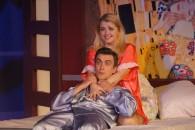 Max Tolstikov and Inna Medvedev as Dan and Abby