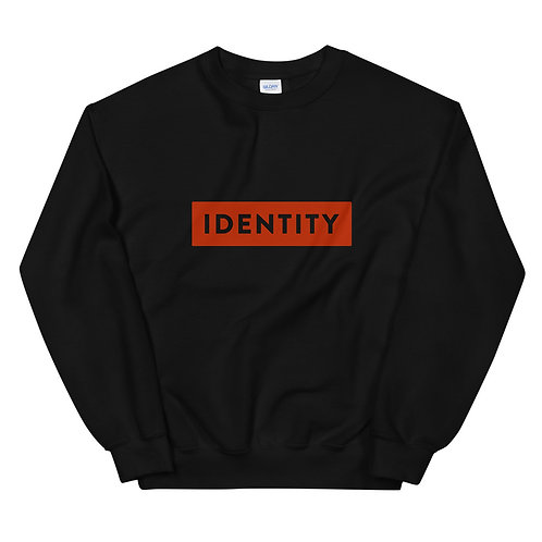 IDENTITY Sweatshirt-Steady (black-red)