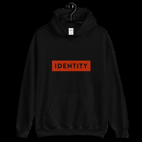 IDENTITY Hoodie-Steady (black-red)