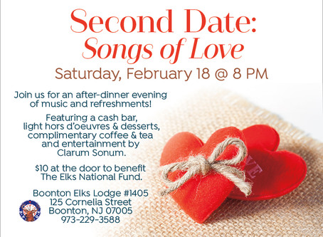 Second Date: Songs of Love