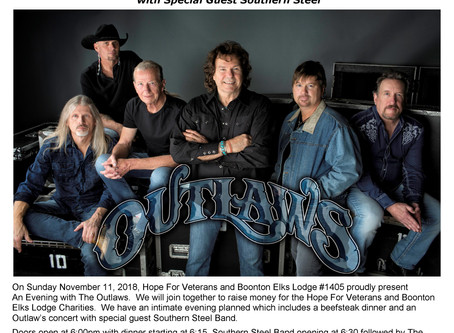 Outlaws with Special Guest Southern Steel