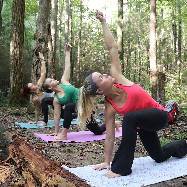 Namaste in Nature with Cathy Woods Yoga