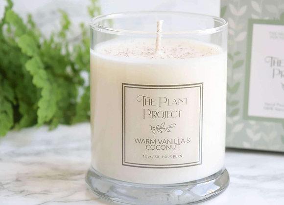Warm Vanilla & Coconut Candle