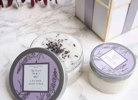 Lavender Body Care Set
