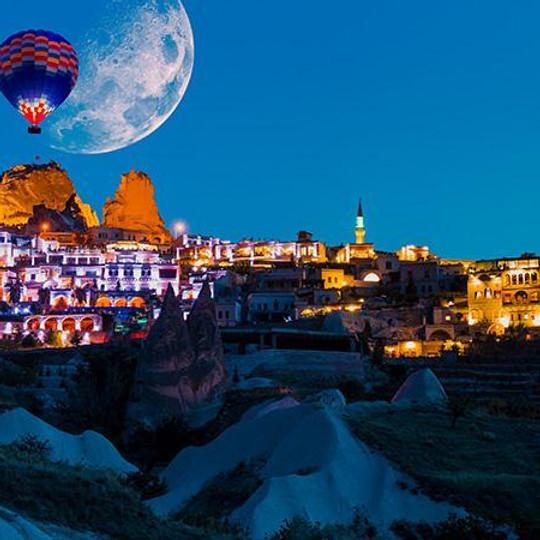 Kapadokya Turu Uçaklı