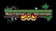 Mustache or Revenge - logo