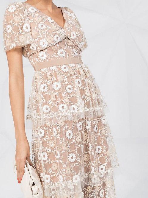 White Cream Dress
