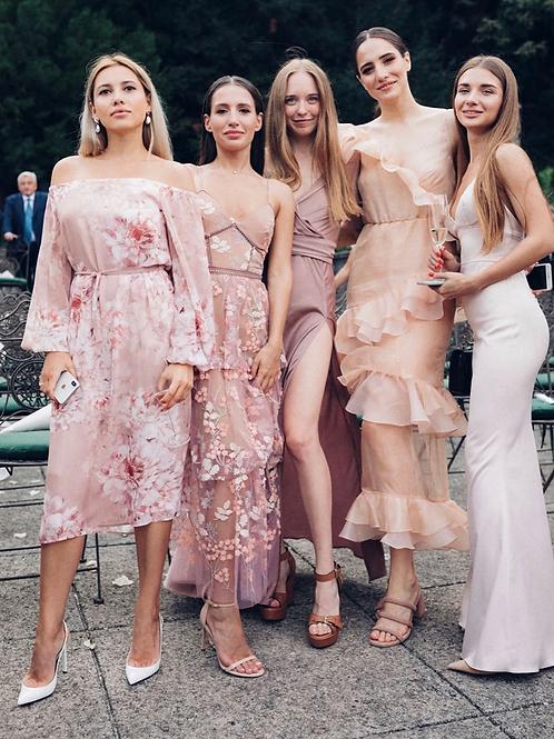 Rose Embellished Dress